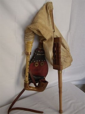 Bagpipe From Banat